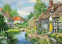 Riverside Cottages 2 x 500 Pieces  Yorkshire Jigsaw Store